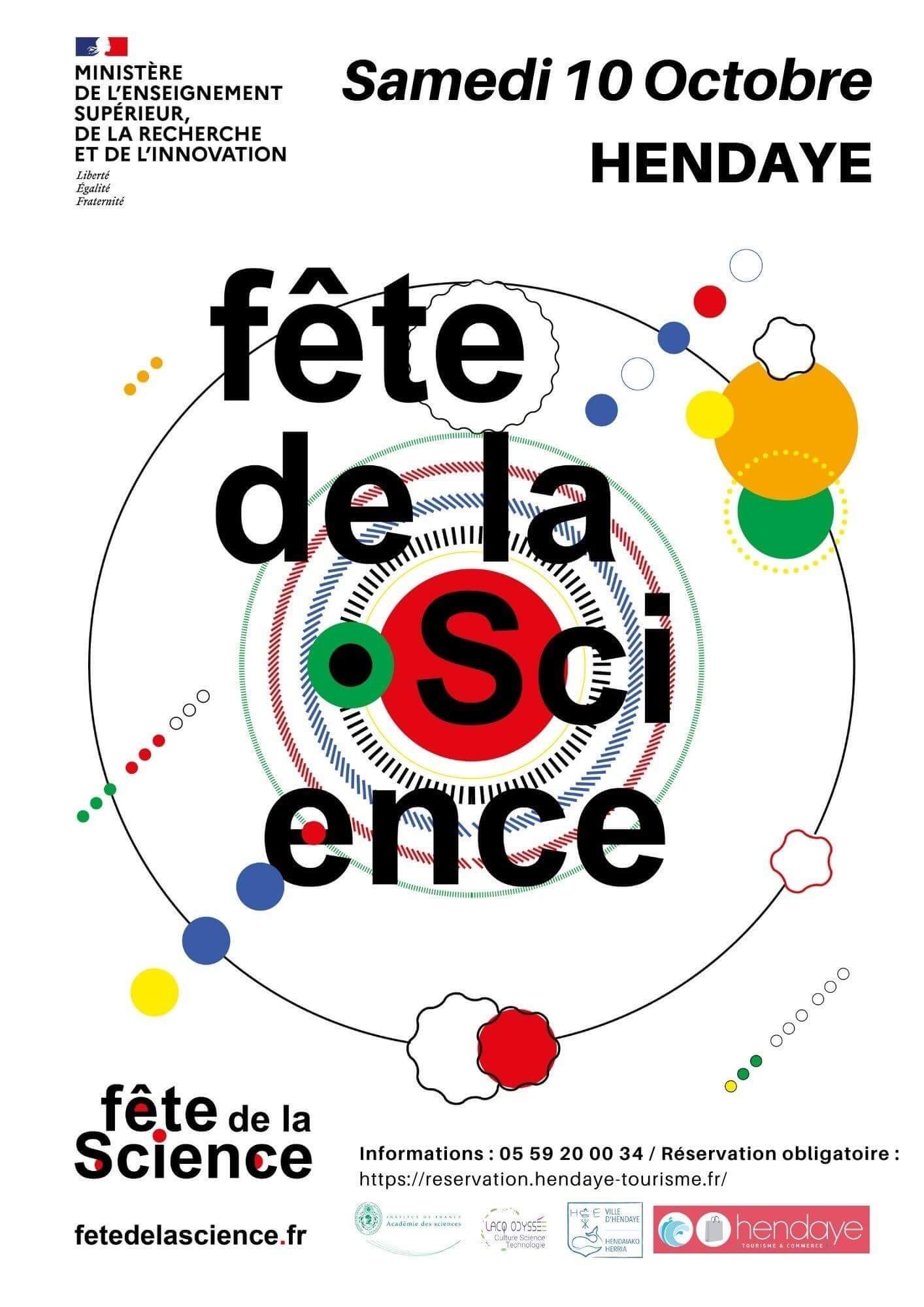 Fête de la science Hendaye